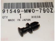 Honda originele kuipclip Blackbird (lang)