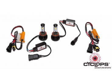 Cyclops LED koplampen 2x H11 (KTM 1090/1190/1290 Adventure-models)