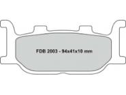 Ferodo remblokken gesinterd FDB2003ST
