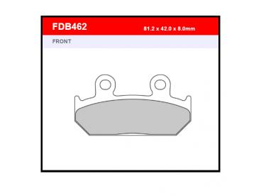 Ferodo remblokken gesinterd FDB462ST