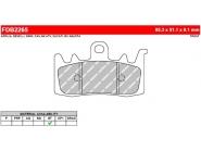 Ferodo remblokken gesinterd FDB2265ST